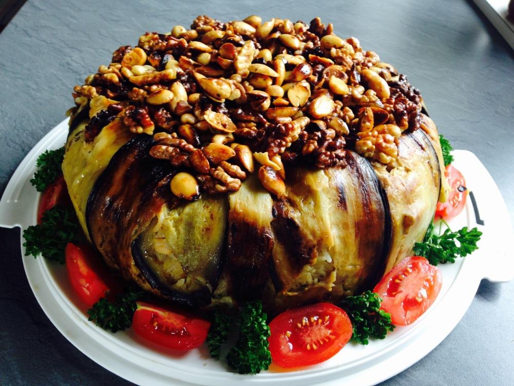 maklube-padlizsaan-torta